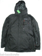 WATERPROOF WINDPROOF HIKING JACKET WITH HOOD, 2 TYPE MADE FROM SOFTSHELL AND TEX