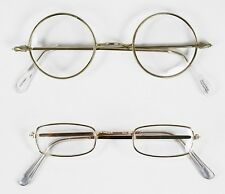 Santa Claus Victorian steampunk OLD Fashioned Rectangle Round Spectacles Glasses