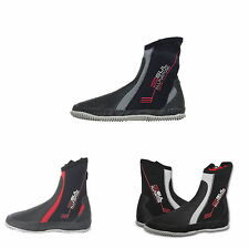 GUL ALL PURPOSE 5mm NEOPRENE ZIPPED WETSUIT BOOTS kayak dinghy jetski sup
