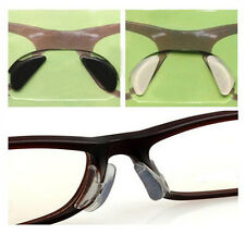 Eyeglass Sunglass Glasses Spectacles Anti-Slip Silicone Soft stick on Nose Pads