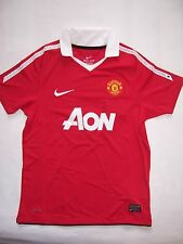 Maillot de Foot neuf Nike MANCHESTER UNITED 2010-2011 TAILLE 10-12 ou 12-13 ans