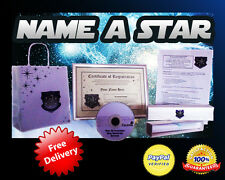 NAME A STAR FOR CHRISTMAS HER BIRTHDAY GOD MOTHER GRANDMOTHER MUM LOVE GIFT