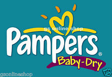 NEW PAMPERS NEW BABY & BABY DRY NAPPIES SIZES 1 3 4 4+ 5 6 FREE FAST UK DISPATCH