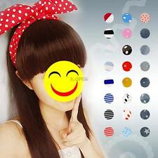 Fashion Lady Lovely Wire Head Band Bunny Rabbit Ear Hairband Ribbon Multi Colors