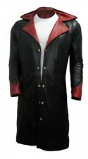 Devil May Cry Leather Coat - DMC Dante Game Costume