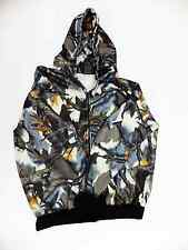Predator 3D Camoflauge Long Sleeve Fleece Zipper Hood Sweatshirt Sovereign Tall