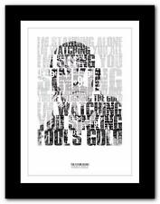 ❤ THE STONE ROSES Fools Gold #2 ❤ lyric typography poster art print A1 A2 A3  A4