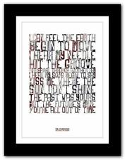 ❤ THE STONE ROSES She Bang The Drums ❤ lyric poster art print A1 A2 A3 or A4