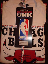 NBA CHICAGO BULLS MEN'S 2 PC PAJAMAS SET NEW