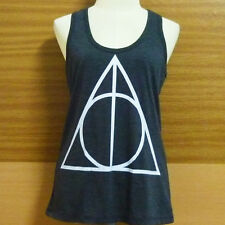 Deathly Hallows Light black tank top,Harry Potter shirt WOMEN TEEN size S/M/L/XL