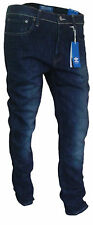 Mens Adidas Originals ZO3559 Skinny Fit Jeans - Blue - All Sizes