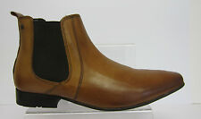 Base London 'arthur Mto' Waxy Tan Mens Ankle Boots Size US 9-13 (r3a)