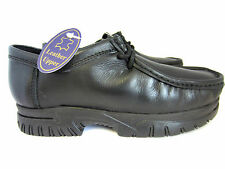 """Boys Back To School Leather Lace Up Shoes """"Brandon"""" J13 To 6 (KR)"""