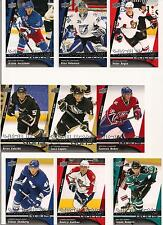 2009-10 Upper Deck UD YG RC Young Guns Rookie --You Pick From List--