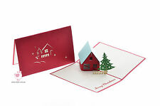 NEW 3D Pop up Christmas Cards 1048 RRP: $12.99