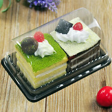 Mousse Case Clear Cupcake Container Box USA SELLER For Holiday Wedding Favors