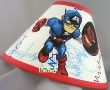 Super Hero Captain America Lamp Shade (All Handmade After Order is Placed)