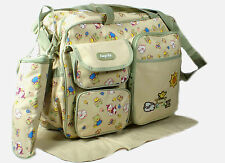 MANY DIFFERENT STYLES of Baby Diaper Nappy Changing Bag Sets Handbags [Sun]