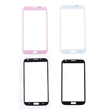 HQ 3 Colors Front Screen Glass Lens Repair Parts For Samsung Galaxy Note 2 N7100
