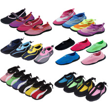 New Kids Youth Athletic Mesh Water Shoes Aqua Socks Available In Multiple Styles