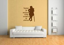 Bilbo the hobbit lord of the rings wall sticker,toy/dvd,sticker/hobbit,book,film