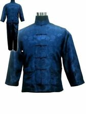 Chinese Style Men's Kung Fu Suit with pants Suit set M L,XL,XXL