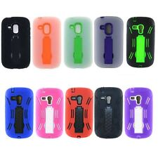 Rugged Heavy Duty Durable Dual Layer Case For Samsung Galaxy S3 Mini I8190 G730