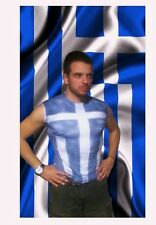 greek flag 300 spartans t shirt art