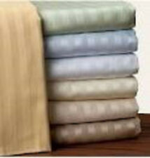 "1000TC 1PC Fitted sheet 19""Deep Pocket 100%Egyptian Cotton Choose Size & Color"