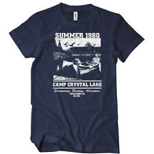 Camp Crystal Lake Summer 1980 T-Shirt Friday The 13TH TEE Funny Humor Movie