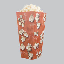 Medium Popcorn Print Fries/Chips Box Carton Holder - BBQs Street Party / Eat in