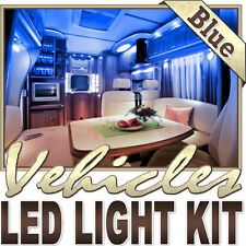 Blue Fishing Storage Compartment LED Strip Lighting Total Package Kit Lamp Light