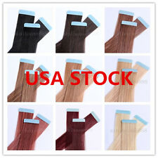 USA STOCK!18 iinch Remy Tape Hair Extension,50g & 20 pieces,3-5 days delivery!