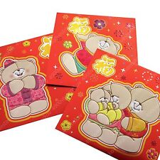 Forever friends assorted Chinese New Year red envelope pocket packet 8/12pc set