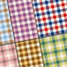 exclusive 48/ 24pc classic checker paper for craft or scrapbooking 6 design