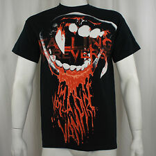 Authentic FALLING IN REVERSE Band Vampires Teeth T-Shirt S M L XL 2XL NEW