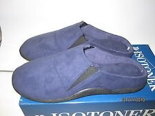 ISOTONER MEN'S SLIPPERS L(9.5 - 10.5) AND XL(11 - 12)