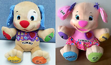 Fisher Price Laugh & Learn Love to Play Puppy Pink / Blue Educational Toy