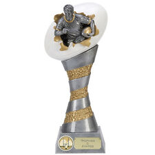 Rugby Trophies Resin 3D Xplode Rugby Ball Trophy Award 3 sizes FREE Engraving