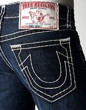 TRUE RELIGION Men's Bobby Natural Super T Straight Brand Jeans