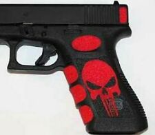 RED PUNISHER GRIPS FOR GLOCK