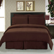 1000TC Australian Size Bedding item 100% Soft Cotton Chocolate  Select Size