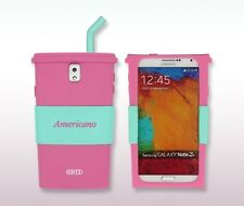 Critz Silicone Americano cup style case for Samsung Galaxy Note 3 lll cell phone