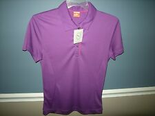 NWT Puma golf womens SS  tech polo cresting in small