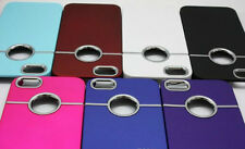 Deluxe Chrome Hard Case Back Cover For Apple iPhone 5 or 5S