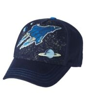GYMBOREE SPACE VOYAGER BLUE SPACE SCENIC BASEBALL CAP HAT 3 4 5 7 8 9 10 NWT-OT