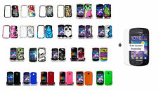Samsung Proclaim SCH-S720C / Illusion i110 Hard Case Snap-on Phone Cover + S.P