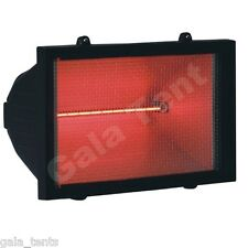 06461 - Electric Infra Red Halogen Patio Heater (wall mounted) Mesh Front 1KW