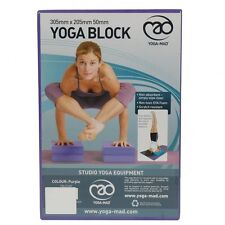 Fitness Yoga Mad Pilates Posture Excercise Full Yoga Block 305mm x 205mm x 50mm