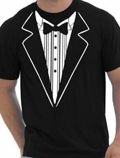 Tuxedo Fancy Dress Funny Mens T-Shirt Size S-XXL